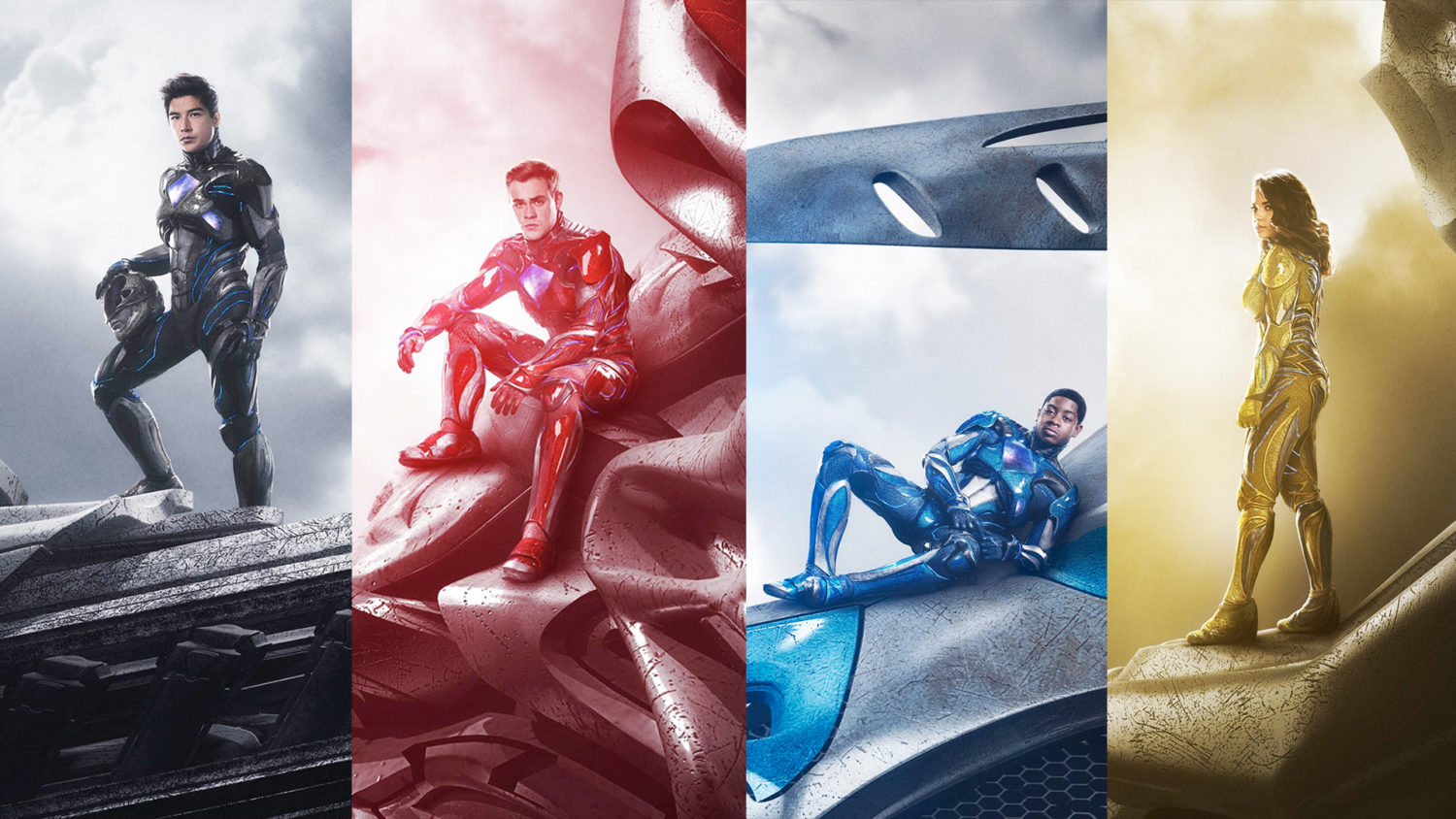 Power Rangers 2017 – Teaser Trailer e Fotos